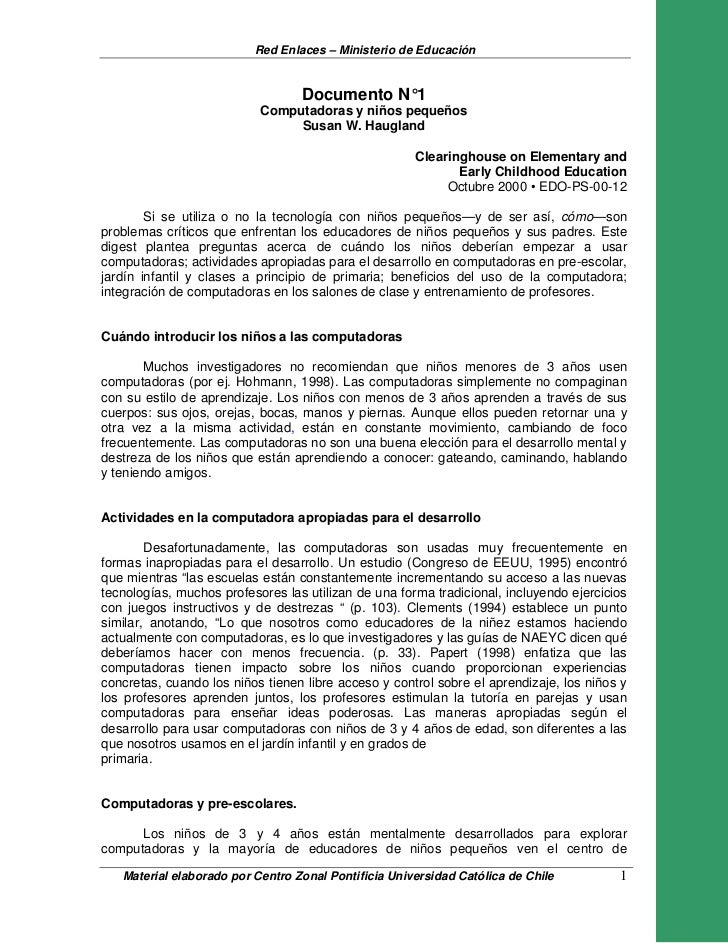 Red Enlaces – Ministerio de Educación                                  Documento N°1                           Computadora...