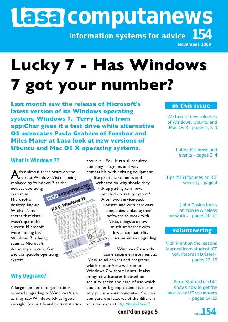 Computanews 154 Nov 2009