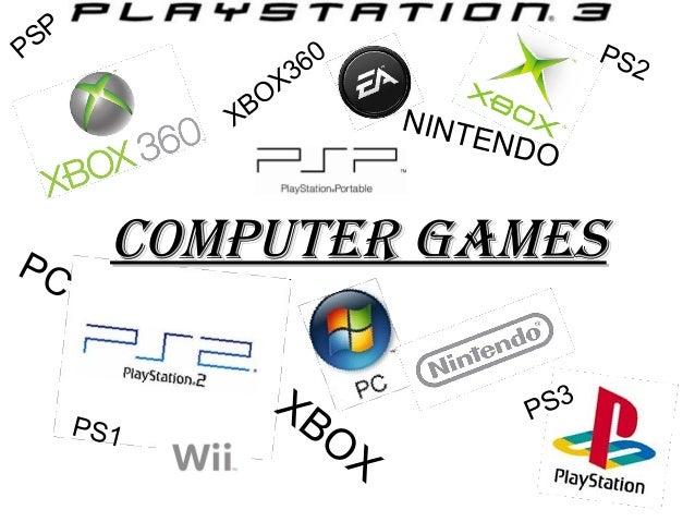 SP P X  PC  PS 2  60 X3 BO  NINT END O  Computer Games PS1  XB O  3 PS  X