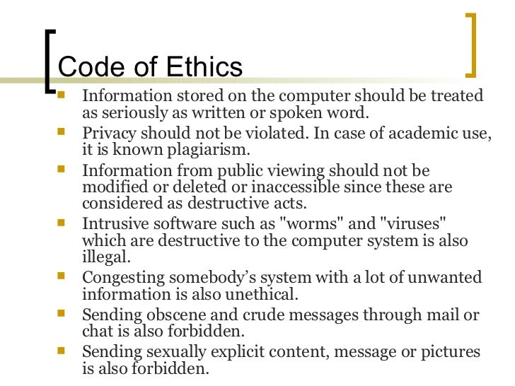 summary and application of ethical codes Introduction and applicability  application of the ethics code the preamble and general principles are aspirational goals to guide psychologists toward.