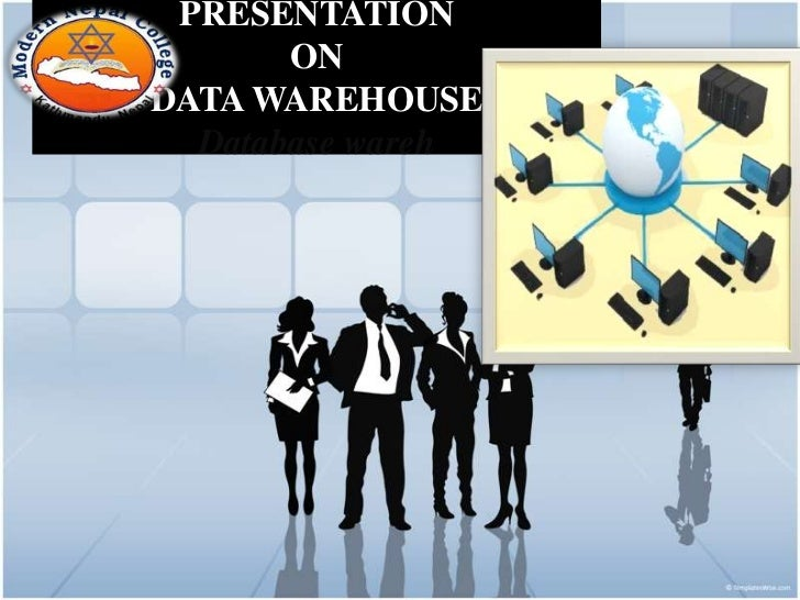 PRESENTATION       ONDATA WAREHOUSE  Database wareh