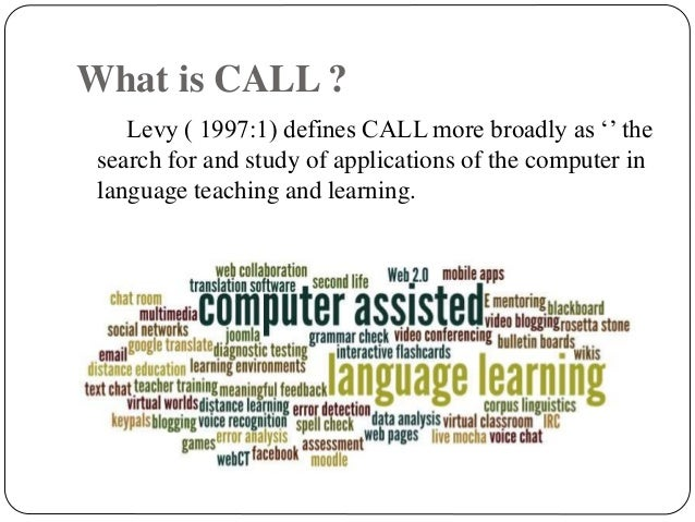 thesis on computer assisted language learning