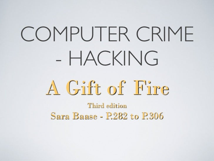 an essay on hackers and computer crimes Free computer crimes papers computer crimes versus traditional crimes - computer crimes versus traditional crimes a computer hacker can steal more with.