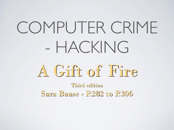 Computer crime   hacking