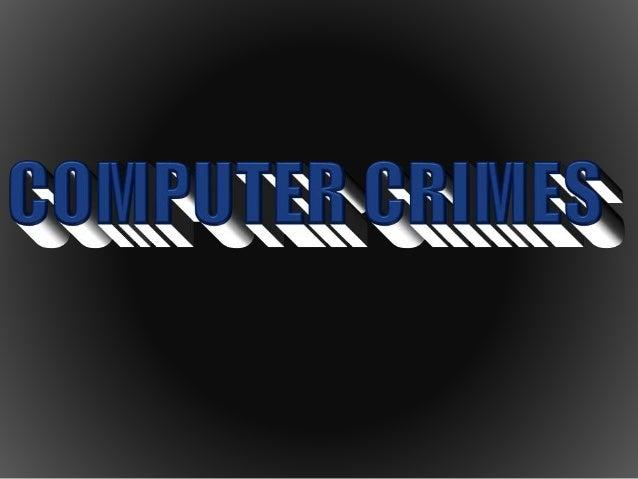 5 Computer Crimes