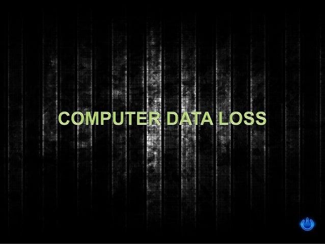 Computer data loss nikki show