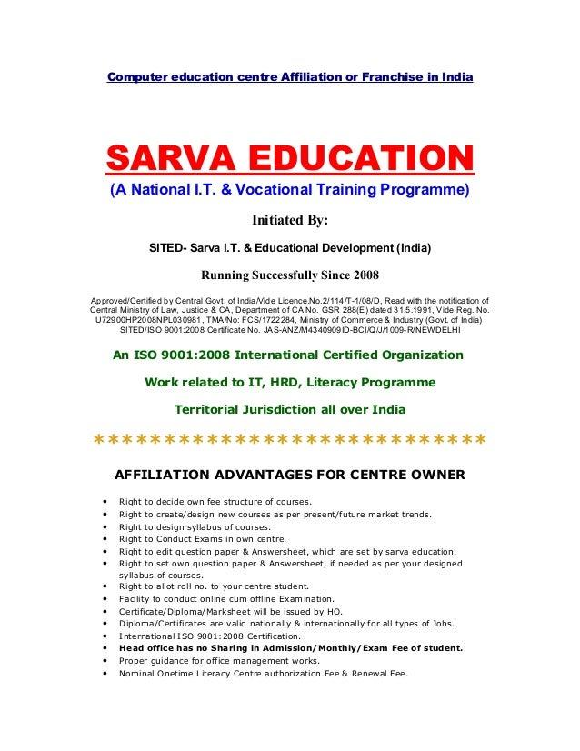 Franchise Agreement Sample For Educational Institute Ichwobbledich