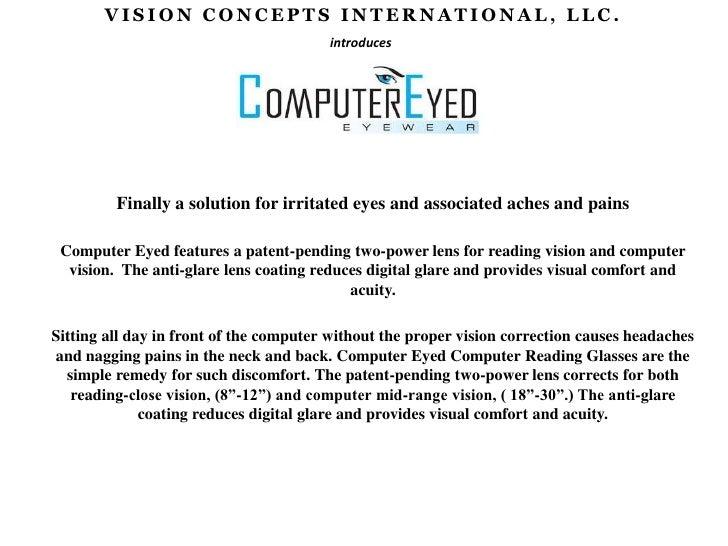 Computer eyed computer