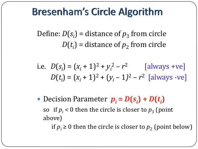 Bresenham Line Drawing Algorithm Pseudocode : Computer graphics bresenham s line drawing algorithm