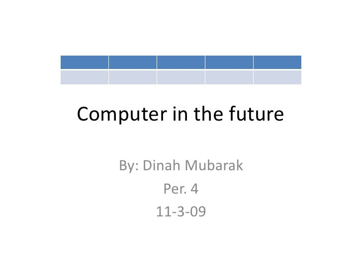 Computer In The Future