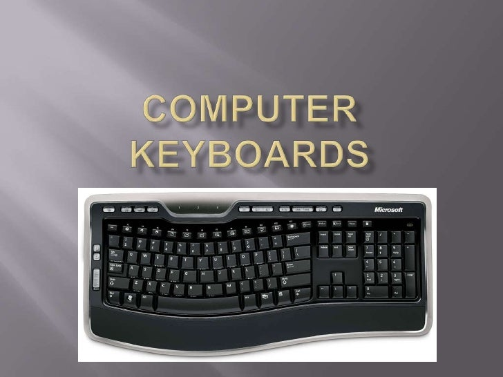 Computer Keyboards<br />
