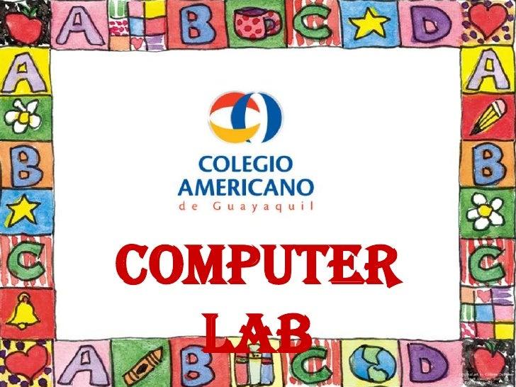 Computer Lab<br />