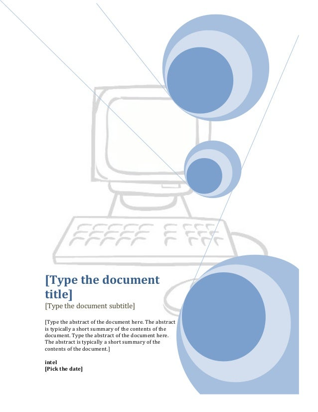 [Type the documenttitle][Type the document subtitle][Type the abstract of the document here. The abstractis typically a sh...