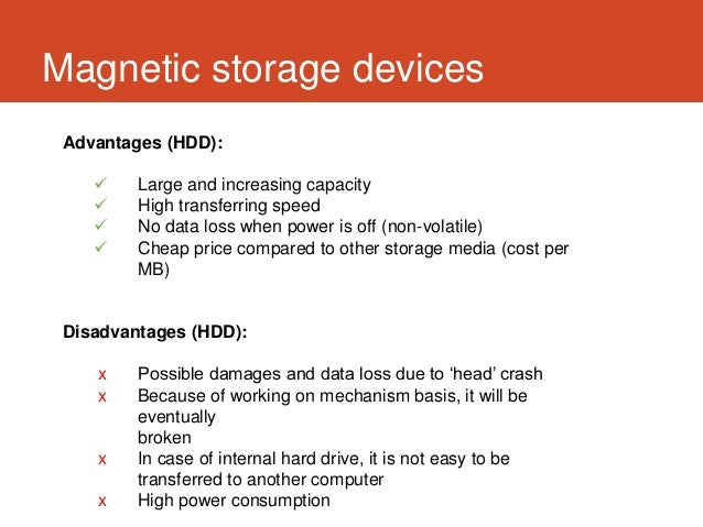 Advantages Disadvantages Of Solid State Drive Ssd