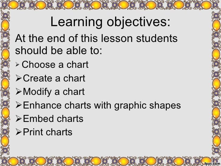 <ul><li>Learning objectives: </li></ul><ul><li>At the end of this lesson students should be able to: </li></ul><ul><li>Cho...
