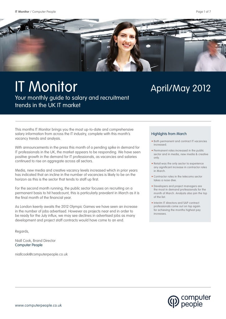 IT Monitor / Computer People                                                                                             ...