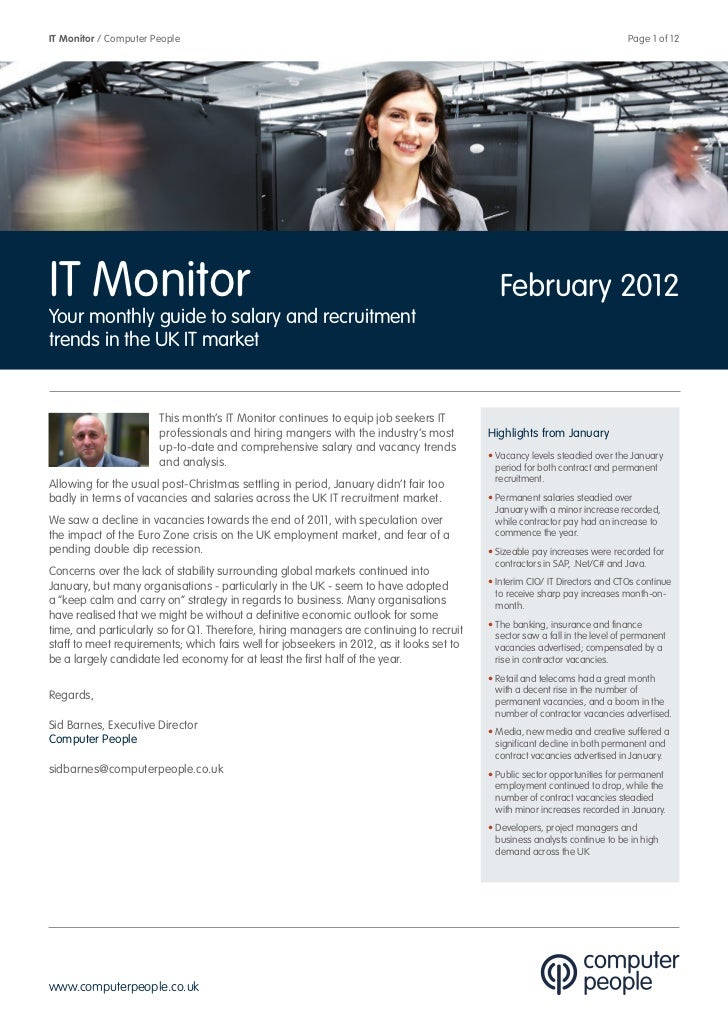 Computer People It Monitor   February 2012