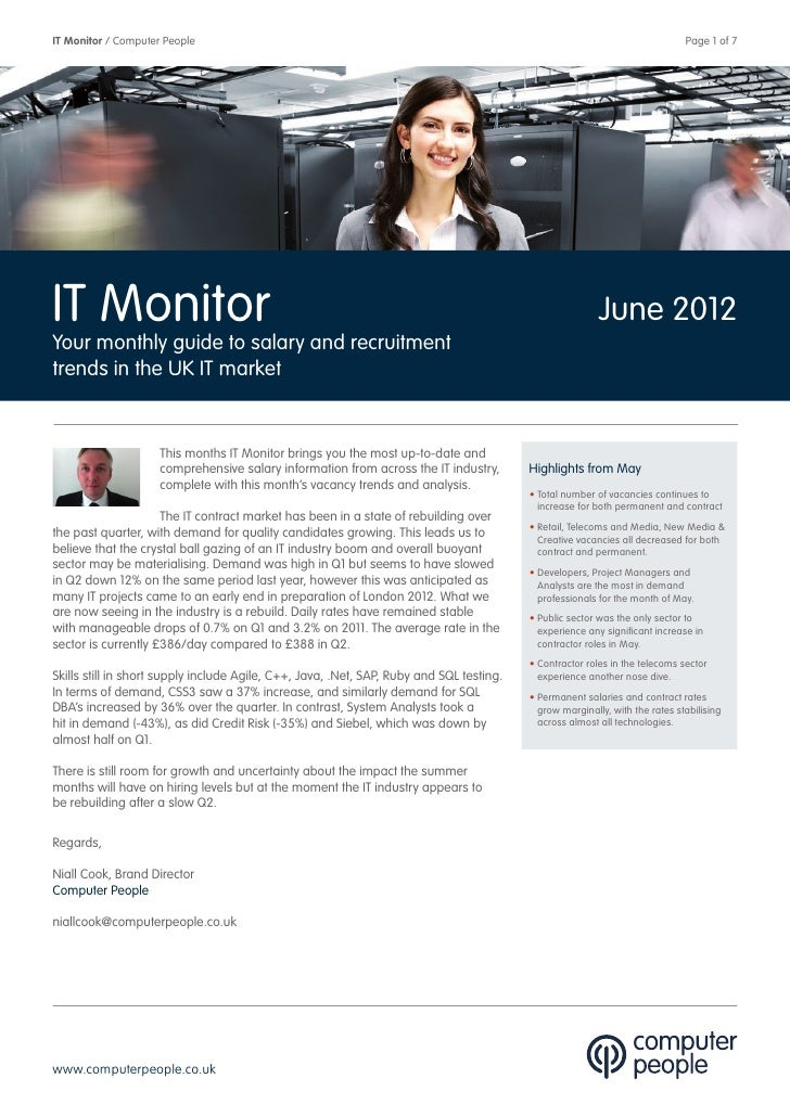 Computer People It Monitor June 2012
