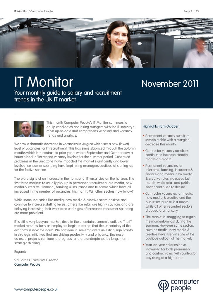 IT Monitor / Computer People                                                                                       Page 1 ...