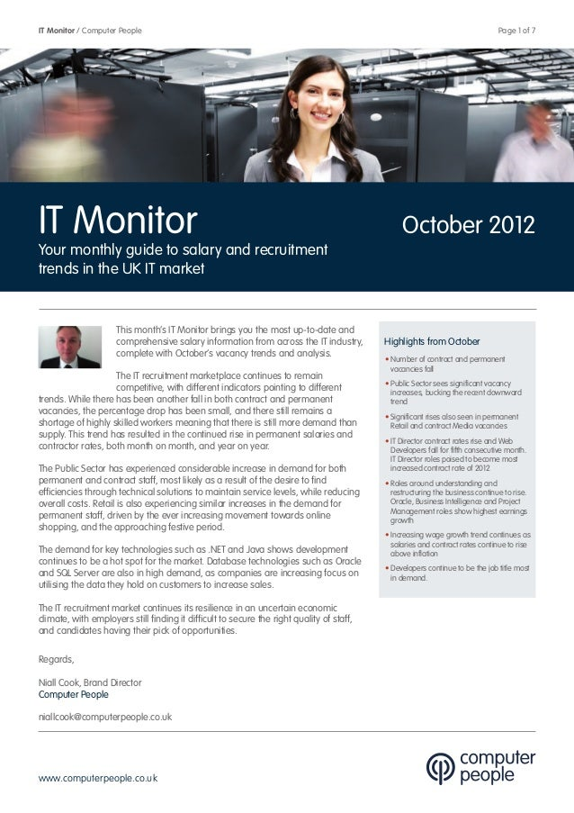 Computer People It Monitor   October 2012