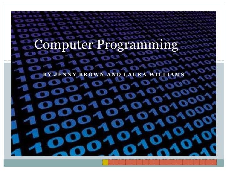 Computer programming project 15sec