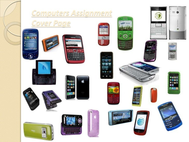 Computers AssignmentCover Page<br />