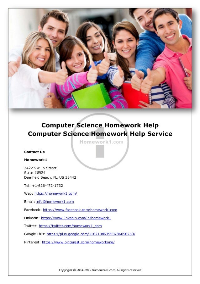 Computer science homework help