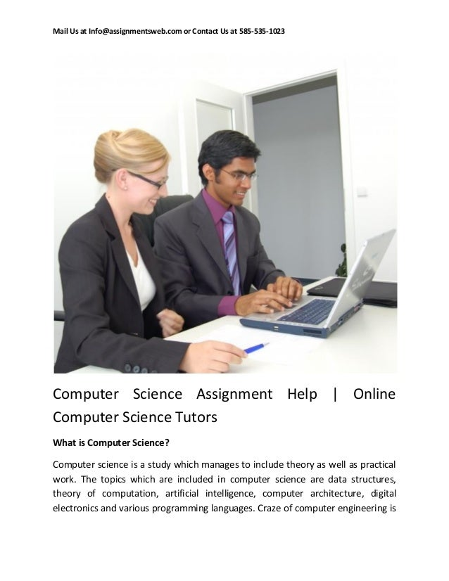 Computer Science essay writing help uk
