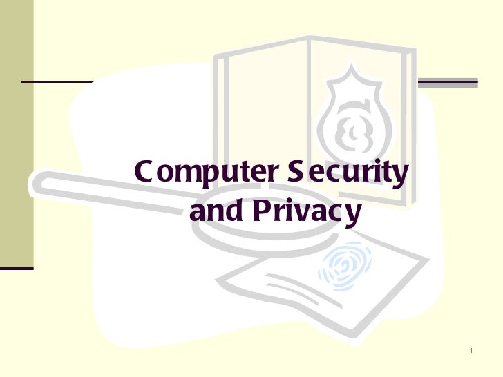 Computer security and_privacy_2010-2011