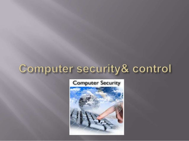Computer security & control, bba 1