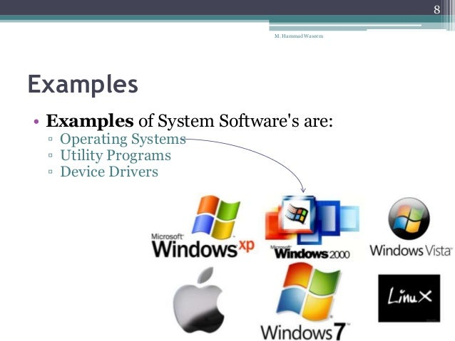 types of computer software types of
