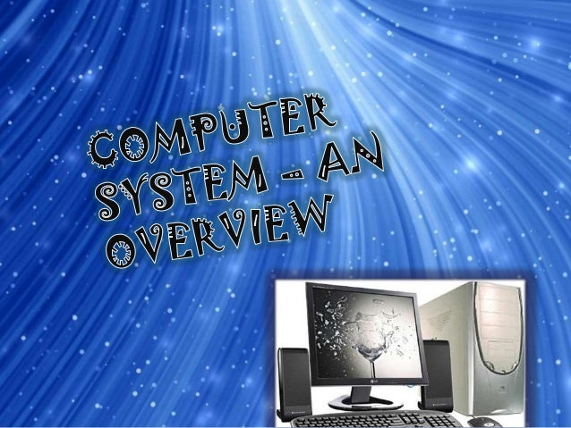 A Computer is an electronic device that can perform a variety of operations according to a set of instructions called PROG...