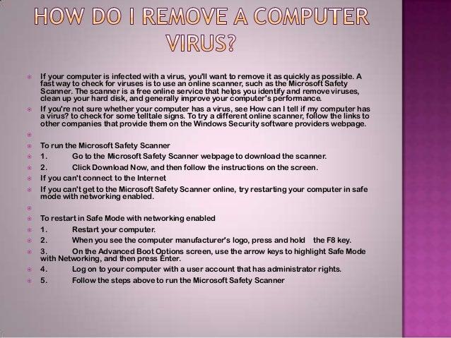Computer Virus Essay?