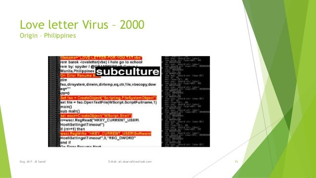 an analysis of the types and potential damage of computer viruses Is chapter 7 study analysis of an information malicious software programs referred to as _____ include a variety of threats such as computer viruses.