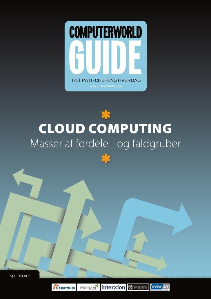 Guide to Cloud Computing (pdf) - Danish