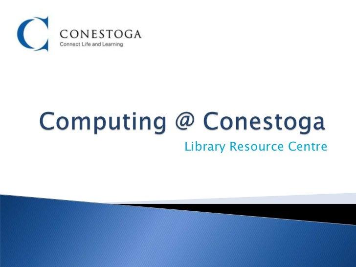 Computing@Conestoga