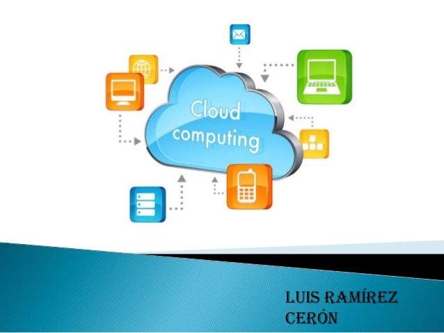 Computing cloud  UPEIN