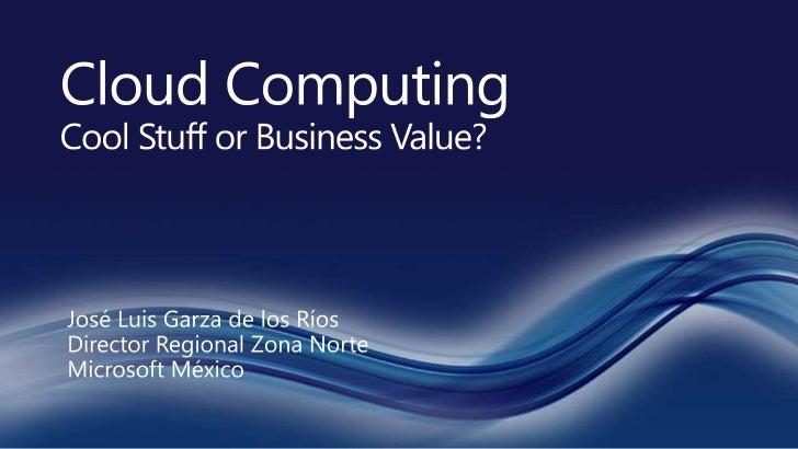 Computo en la nube   moda o valor de negocio v2
