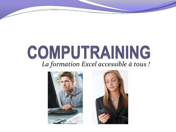 La formation Excel accessible à tous !