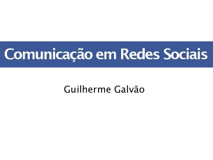 Guilherme Galvão