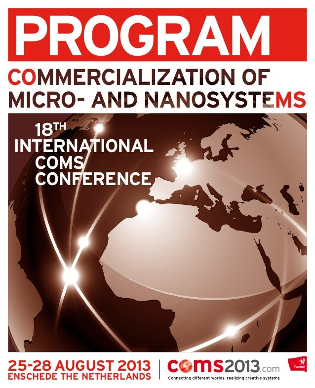 COMS International Conference on Commercialization of Micro and Nanotechnology