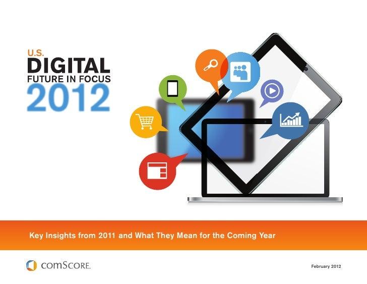 Comscore 2012 US Digital Futur in Focus