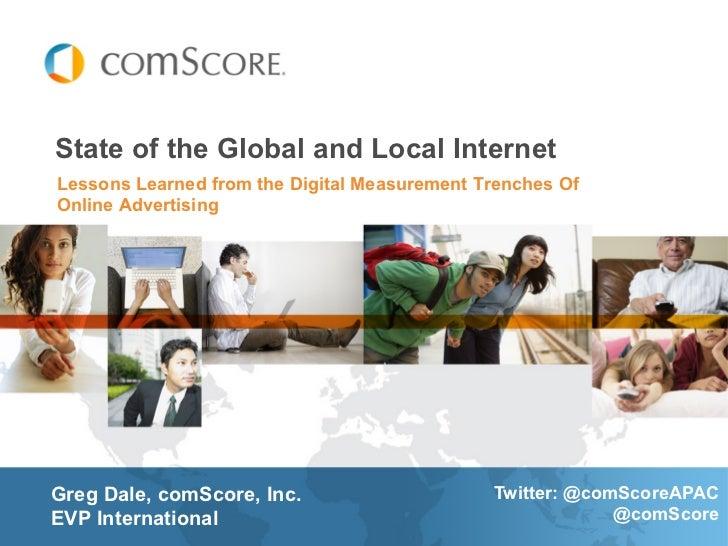 comScore presentation adtech Singapore  2012