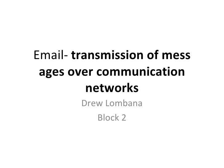 Communication Slideshow 1