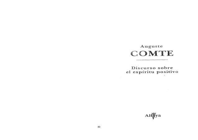 Comte  -discurso_sobre_el_espiritu_positivo