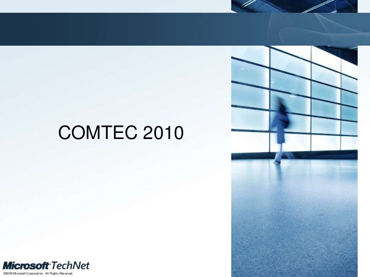 Comtec2010 asp.net mvc