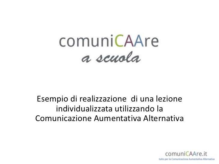 Comunicazione aumentativa per la scuola