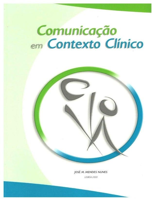 Comunicação no contexto clinico