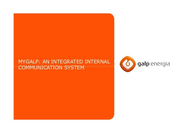 MYGALP: AN INTEGRATED INTERNAL COMMUNICATION SYSTEMCOMMUNICATION SYSTEM