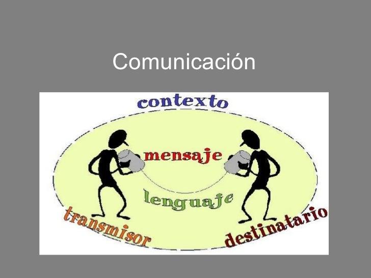 Comunicación. finalizado